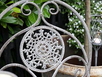 Caféset - Fransk romantisk stil - Antik zink