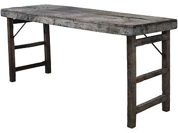 Bord - skrivbord i återvunnet trä 67 x 150 cm