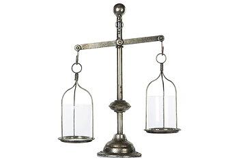 Vågskål/lykta/Vas Antik-Silver