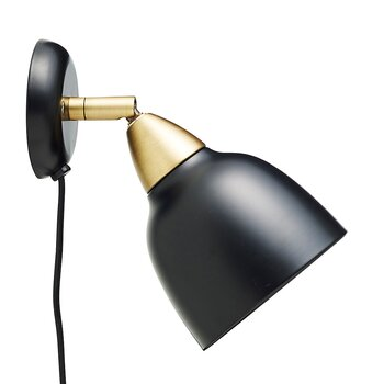 Urban Short Wall Lamp Real Black