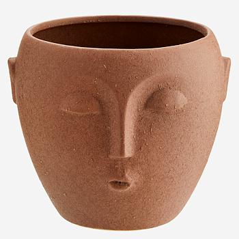 Kruka Ansikte Terracotta