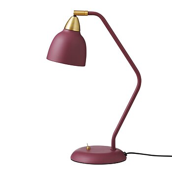 Urban Table Lamp Bordeaux/guld