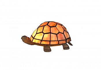 Sköldpadda röd-gul, Tiffany