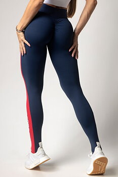 HIPKINI Scrunch Tights  Stars Blue