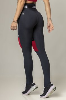 HIPKINI Tights Rio Black/Bordeaux