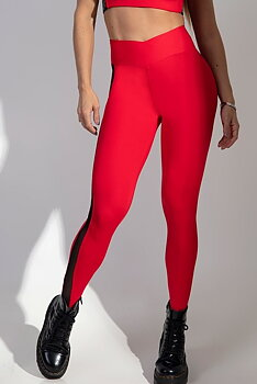 HIPKINI Tights Vibes Red