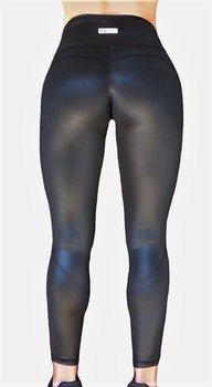 Raw By Adriana Kuhl Vibrant Tights  Shiny Black