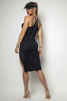HIPKINI Dress Chic Black