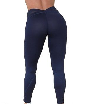 RAW By Adriana Kuhl Bubble Butt Tights Blue