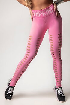 HIPKINI Seamless Tights  Savage Soft Pink