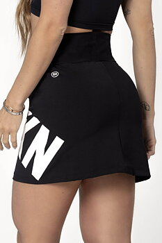 HIPKINI Fitness Skirt Black Logo