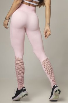 HIPKINI Seamless Tights Slim Fit Soft Pink
