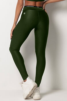HIPKINI Zip  Tights Army