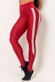 HIPKINI Stripes Tights Red