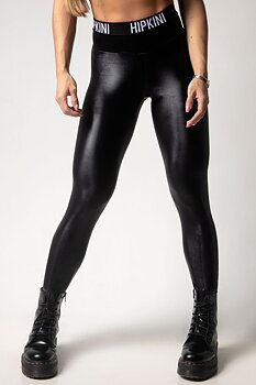 HIPKINI Pro Tights Shiny Black