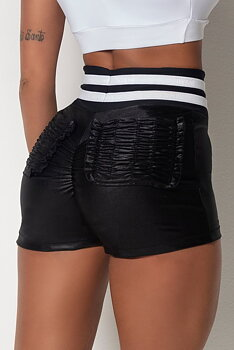 HIPKINI Fitness Shorts Black