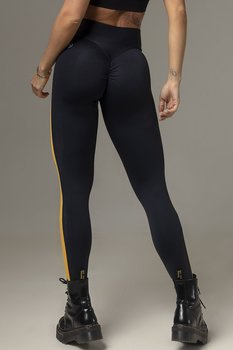 HIPKINI Scrunch Tights  Sport Black/Yellow