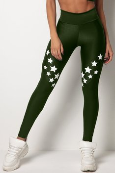 HIPKINI Stars Tights Army