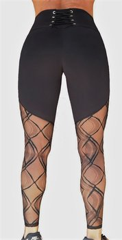 Raw By Adriana Kuhl Tights Crush Black Lace