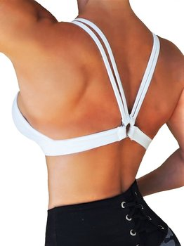 RAW By Adriana Kuhl Crush Sports Bra White