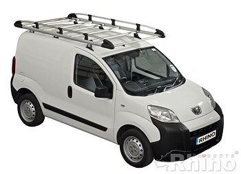 Takplattform Aluminium Rack - Dacia Dokker 2012->
