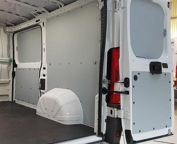 Väggbeklädnad (Grå) - VW Caddy MAXI L2H1