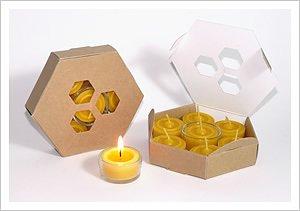 Värmeljus bivax 7-pack (refill)