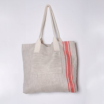 Shopping bag - village red
