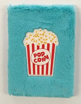 Anteckningsbok Plysch Popcorn