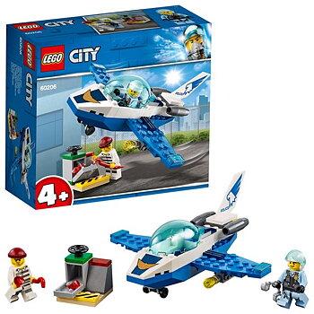 Lego City Luftpolisens jetpatrull 60206