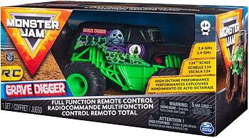 Monster Jam R/C 1:24 Grave Digger