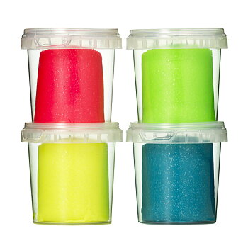 Play Doh Glitter 4 Pack