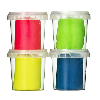 Play Doh Neon 4 pack