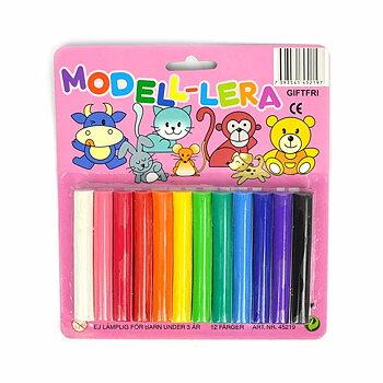 Modellera Giftfri 12 färger