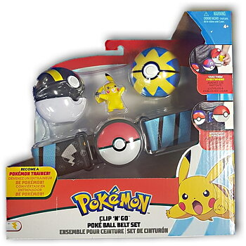 Pokémon Clip n Go Pokéball Belt Set