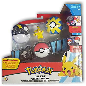 Pokémon Clip n Go Pokéball Belt Set