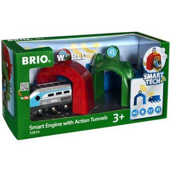 Brio 33834 Smart Engine with Action Tunnels