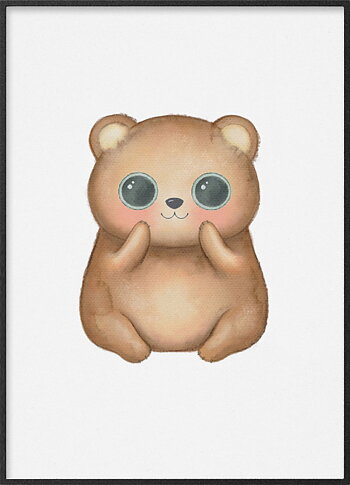Brown bear kawaii