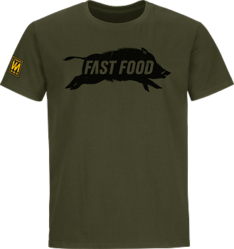 Fast food 2.0 t-shirt