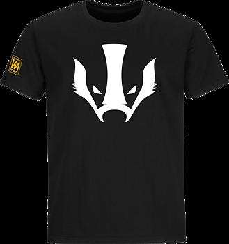 Vildmarken Badger head t-shirt