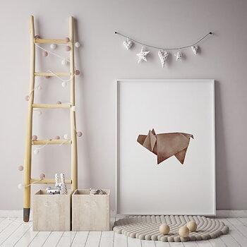Villsvin origami