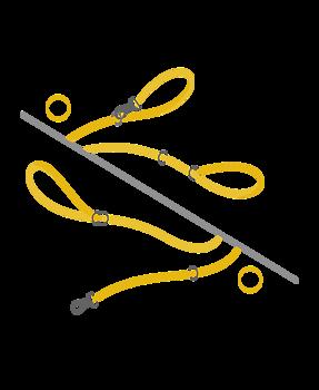 Vildmarken multi leash