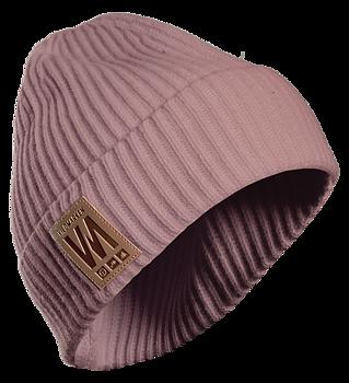Vildmarken knitted beanie pink