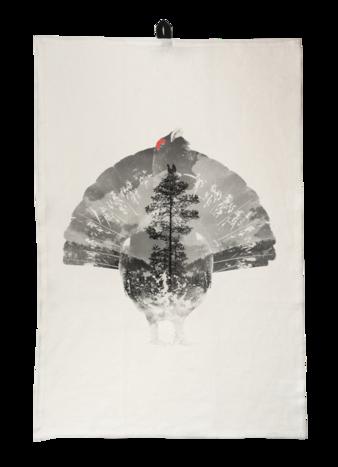 Capercaillie - Kitchen towel 45x65 cm