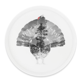 Tiur - Rund skive Ø38cm