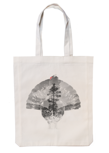 Capercaillie - Fabric bag 35x45 cm