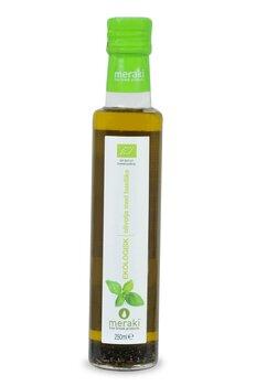Extra ljungfru olivolja med basilika EKO 250ml