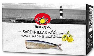 Små sardiner med citron