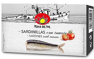 Små sardiner i tomatsås