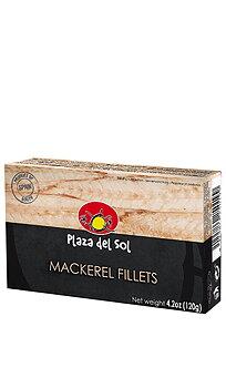 Makrillfileer i olja